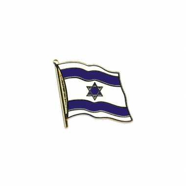 Pin speld vlag israel 20 mm
