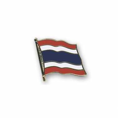 Pin speld vlag thailand 20 mm