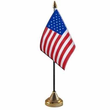 Polyester amerikaanse/us vlag bureau 10 15