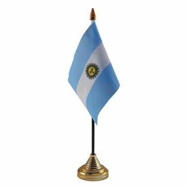 Polyester argentijnse vlag bureau 10 15