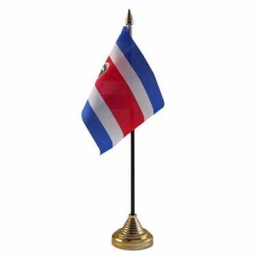 Polyester costa ricaanse vlag bureau 10 15