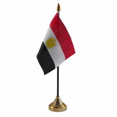 Polyester egyptische vlag bureau 10 15