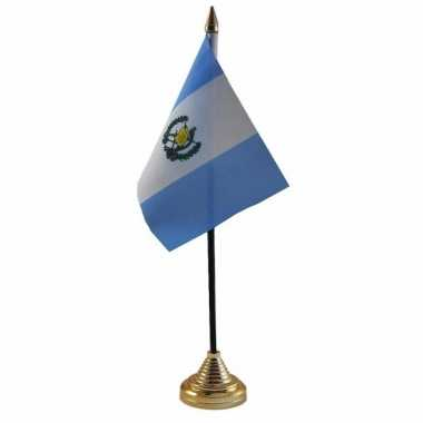 Polyester guatemalaanse vlag bureau 10 15