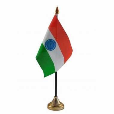Polyester indiase vlag bureau 10 15