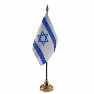 Polyester israelische vlag bureau 10 15