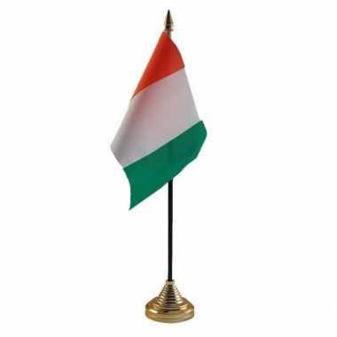 Polyester ivoriaanse vlag bureau 10 15