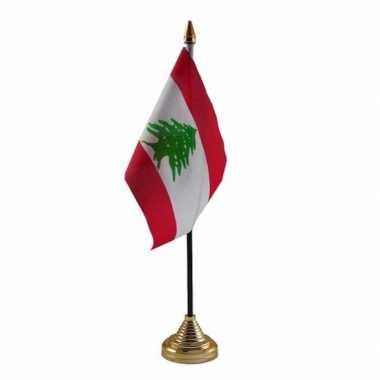 Polyester libanese vlag bureau 10 15