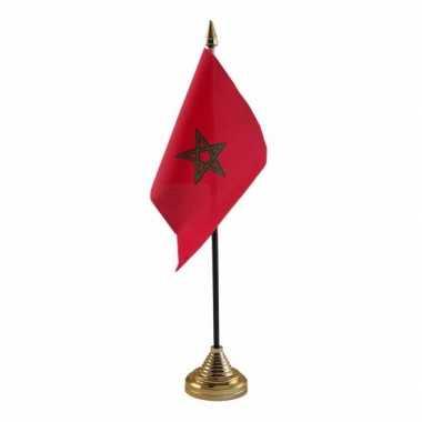 Polyester marokkaanse vlag bureau 10 15