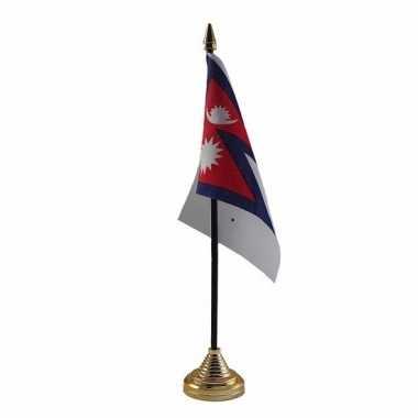 Polyester nepalese vlag bureau 10 15