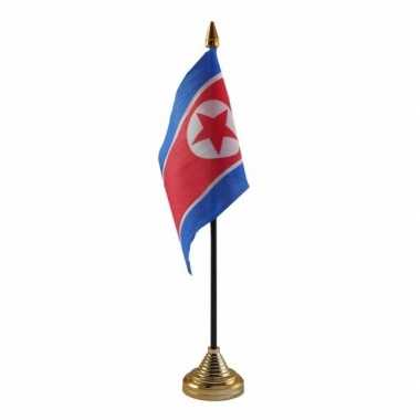 Polyester noord koreaanse vlag bureau 10 15