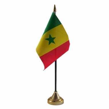 Polyester senegalese vlag bureau 10 15