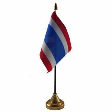 Polyester thaise vlag bureau 10 15