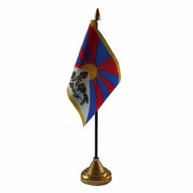 Polyester tibetaanse vlag bureau 10 15