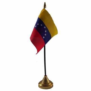 Polyester venezolaanse vlag bureau 10 15