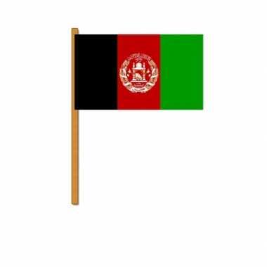 Polyester zwaaivlag afghanistan