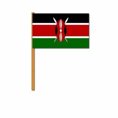 Polyester zwaaivlag kenia