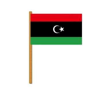 Polyester zwaaivlag libie
