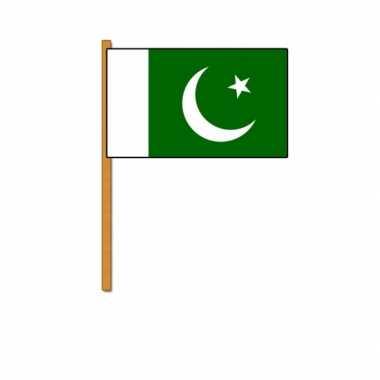 Polyester zwaaivlag pakistan