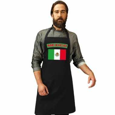Schort mexicaans restaurant vlag mexico