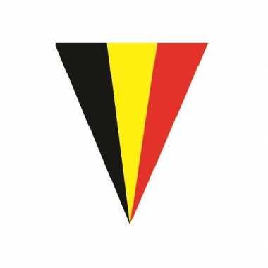 Slinger belgische vlag 5 meter