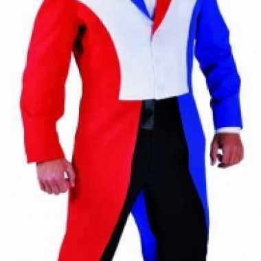 Slipjas heren rood/wit/blauw