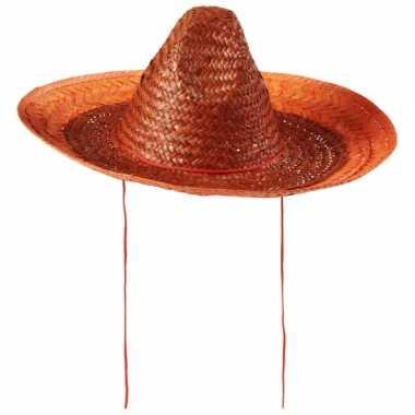 Sombrero oranje 48