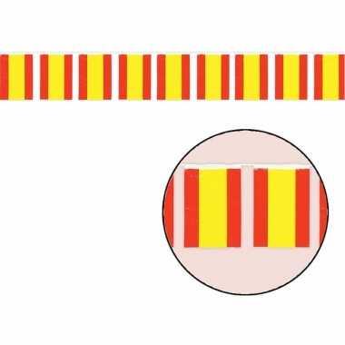 Spaanse vlag slinger 50 meter