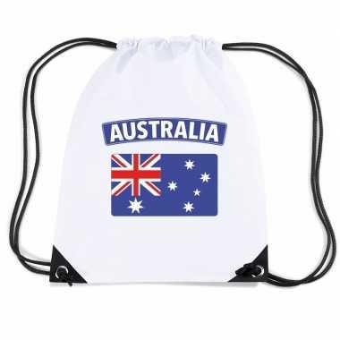 Sporttas rijgkoord vlag australie