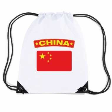 Sporttas rijgkoord vlag china