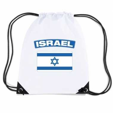 Sporttas rijgkoord vlag israel