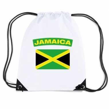 Sporttas rijgkoord vlag jamaica