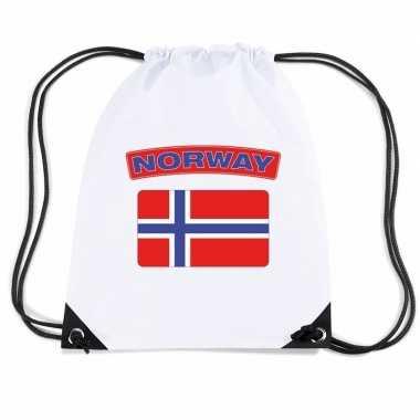 Sporttas rijgkoord vlag noorwegen