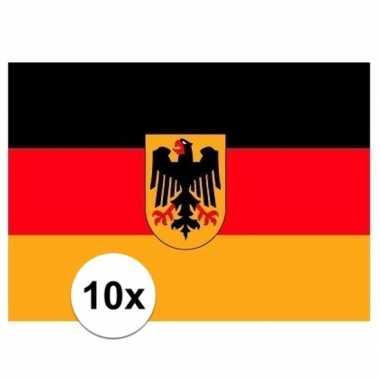 Stickers duitse vlag