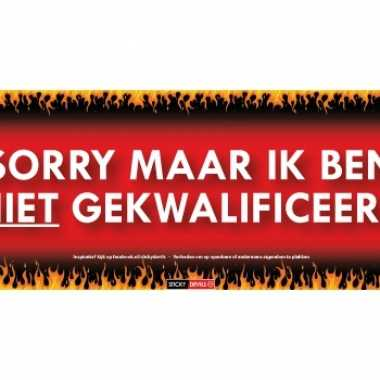 Sticky devil stickers tekst gekwalificeerd