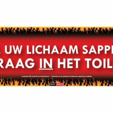 Sticky devil stickers tekst lichaam sappen