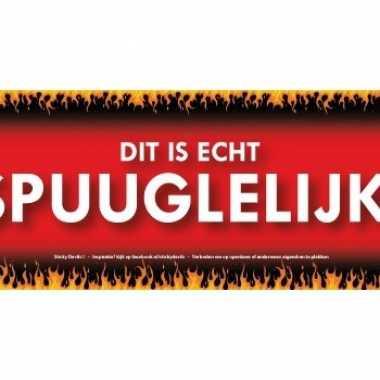 Sticky devil stickers tekst spuuglelijk