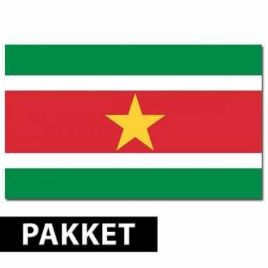 Surinaams versiering pakket
