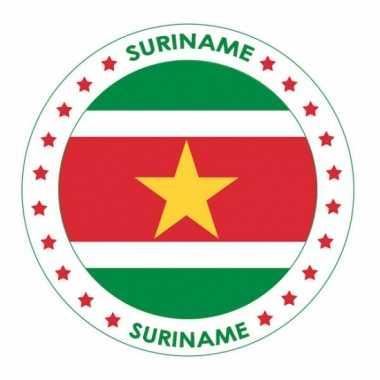 Surinaamse vlag bierviltjes