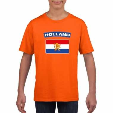 T shirt oranje nederland vlag oranje kinderen