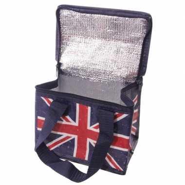 Union jack/united kingdom blikjeskoeler koeltassen sixpack/6 blikken