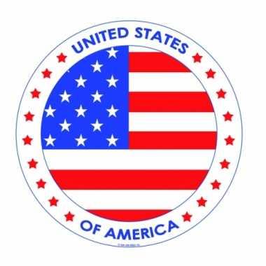 Usa vlag bierviltjes