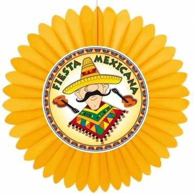 Versiering waaier mexico