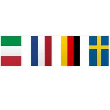 Vlaggenlijn europese landen