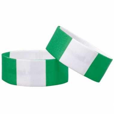 Voetbal armband nigeria