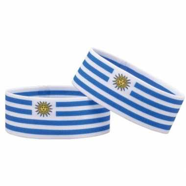 Voetbal armband uruguay