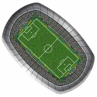 Voetbal bordjes 18 27 8 stuks