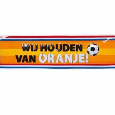 Wandversiering bord holland