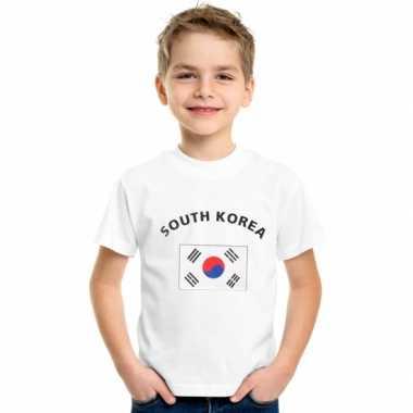 Zuid korea vlaggen t shirts kinderen