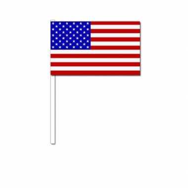 Zwaaivlaggetje amerikaanse vlag