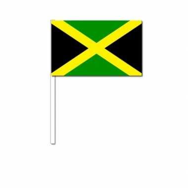 Zwaaivlaggetjes jamaicaanse vlag